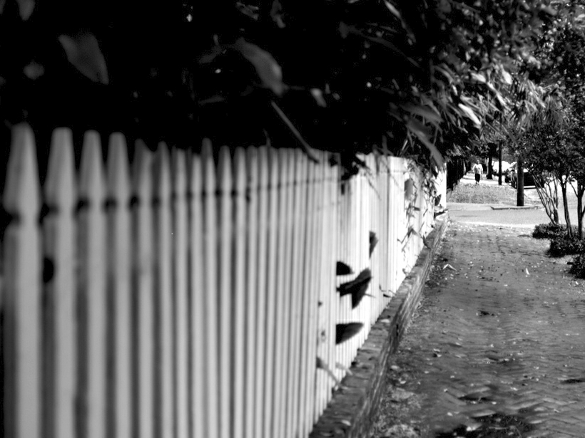 Nizza Picket Fences Fotos